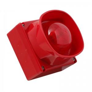 Adresseerbare sirene-flitser LED