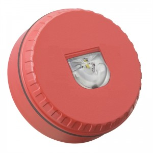 Conventionele flitser rood laag
